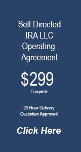 Florida IRA LLC Operating Agreement